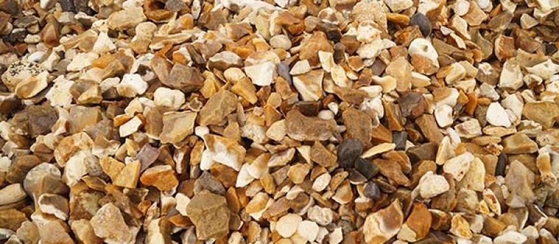 decorative gravels golden flint