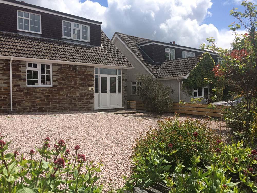 front garden decorative gravel